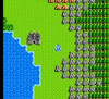 Dragon Warrior RPG Nintendo NES in game footage image pic