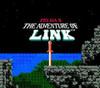 Adventure of Link Gold (Zelda II) Nintendo NES game title screen image pic