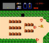Legend of Zelda Gold Nintendo NES game play footage image pic