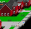Paperboy Nintendo NES in game screen image pic