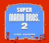 Super Mario Bros. 2 Nintendo NES title screen image