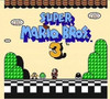 Super Mario Bros. 3 Nintendo NES Game in game title screen.