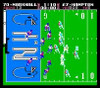 Tecmo Football Nintendo NES video gameplay end zone image pic