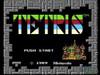 Tetris Nintendo NES game title screen image pic
