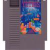 Tetris Nintendo NES game cartridge image pic