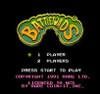 Battletoads Nintendo NES game title screen image pic