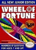 Wheel of Fortune Jr. Edition - NES Game