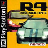 Ridge Racer Type 4 R4 - PS1 Game