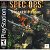 Spec Ops Stealth Patrol - PS1 Game
