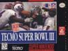 Tecmo Super Bowl III:Final Ed. - SNES Game