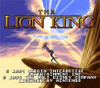 Lion King, Disney's The SNES Game Cover Screen
