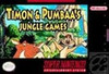 Timon & Pumbaa's Jungle Games - SNES Game