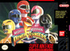 Mighty Morphin Power Rangers - SNES Game