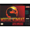 Mortal Kombat - SNES box front cover