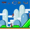 Super Mario World in game graphics