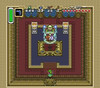 Legend of Zelda A Link To the Past - SNES in game graphics