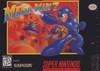 Mega Man 7 - SNES Game Box Art