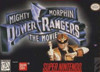 Mighty Morphin Power Rangers The Movie - SNES Game