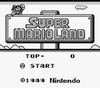 Super Mario Land - GameBoy Game