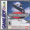 Shaun Palmer's Pro Snowboarder - Game Boy Color