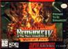 Romance of the Three Kingdoms IV - SNES Game