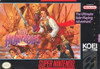 Uncharted Waters New Horizons - SNES Game