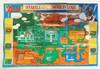Legend of Zelda Link to the Past Hyrule Overworld - SNES Map Front