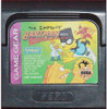 Simpsons Bartman Meets Radioactive Man Game Gear Game
