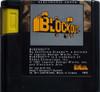 Blockout - Genesis Game Cartridge
