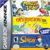 Mouse Trap/Operation/Simon - Game Boy Advance Game