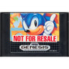 Sonic The Hedgehog Not For Resale - Genesis Game