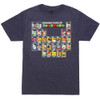 Periodic Table of Super Mario 30 - Officially Licensed T-Shirt