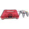N64 Player Pak Clear Red / Clear