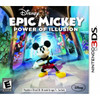 Epic Mickey Power of Illusion Nintendo 3DS Nintendo Used Video Game for sale online.