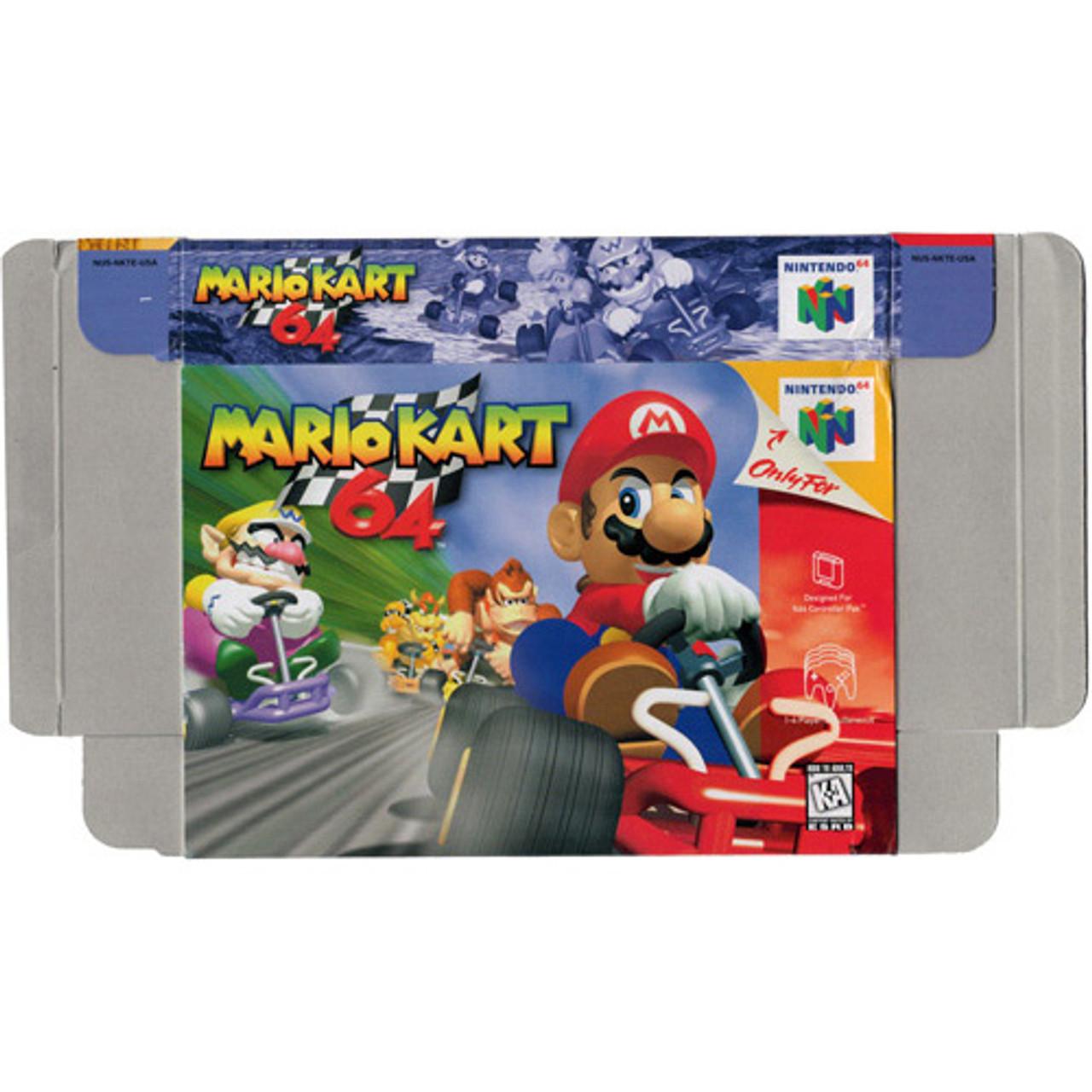 Mario Kart 64 Nintendo 64 N64 Box For Sale Dkoldies