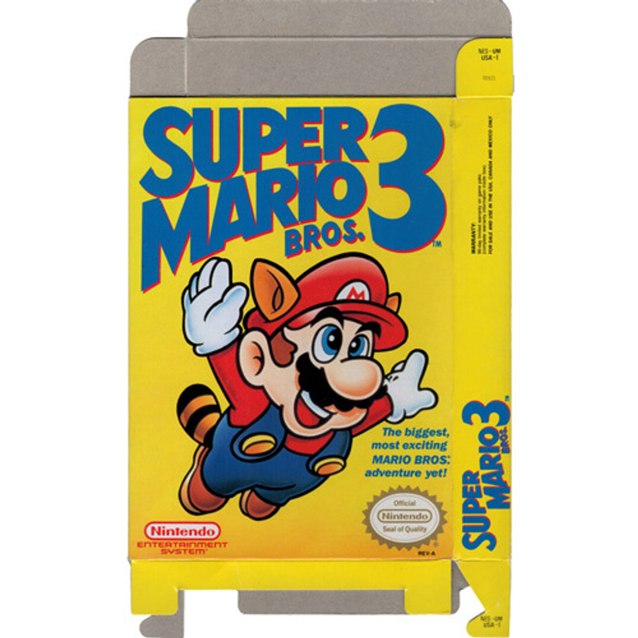 Super Mario Bros  3 - Empty NES Box