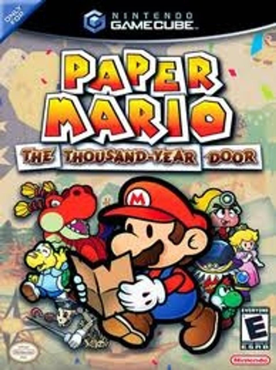Paper Mario Gamecube Game