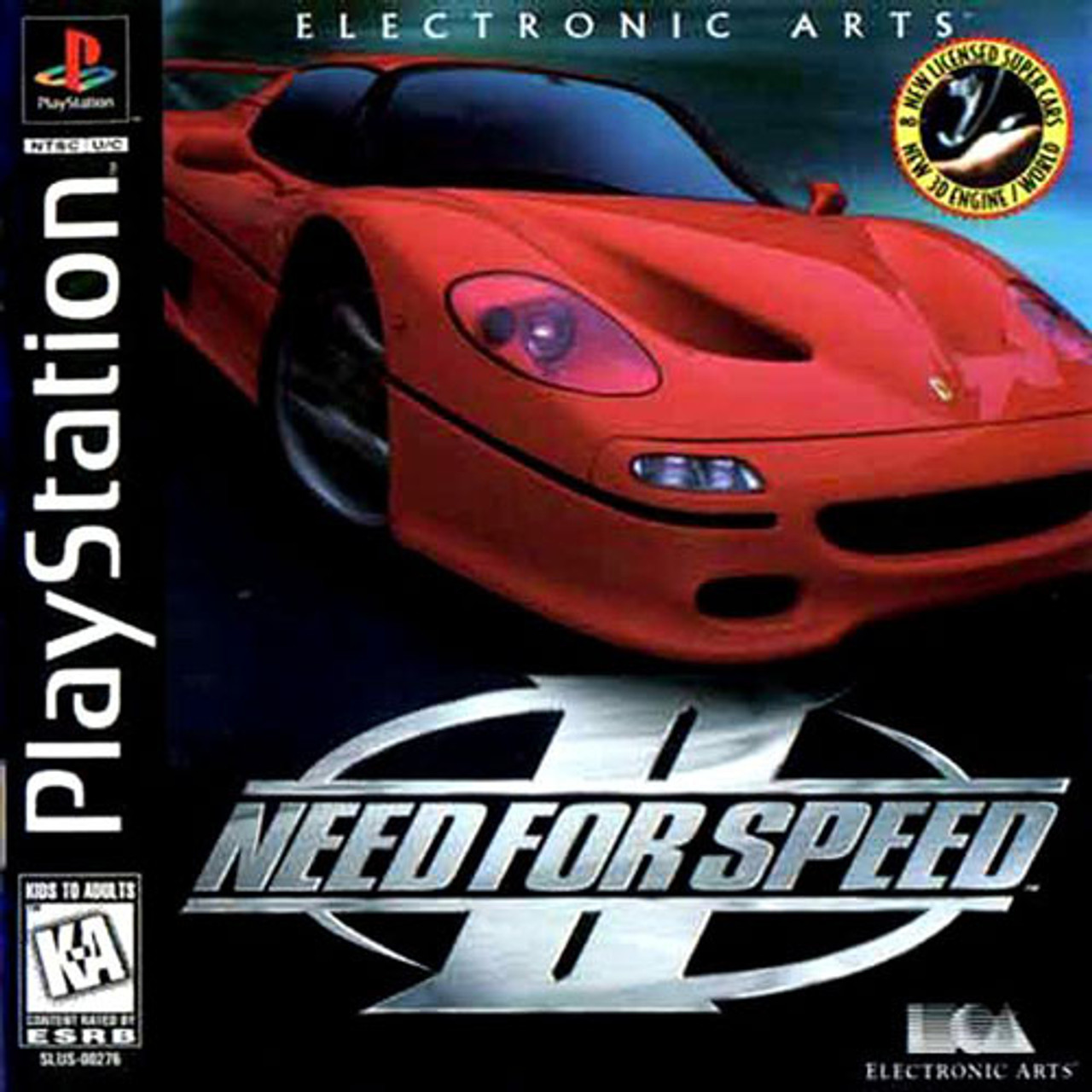 Complete Need For Speed Ii 2 Ps1 Game For Sale Dkoldies