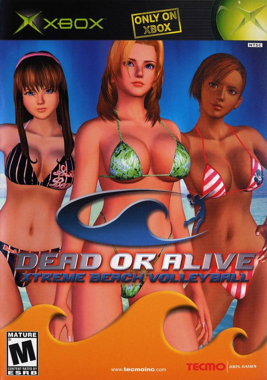 Dead Or Alive Xtreme Beach Volleyball Xbox Game For Sale Dkoldies