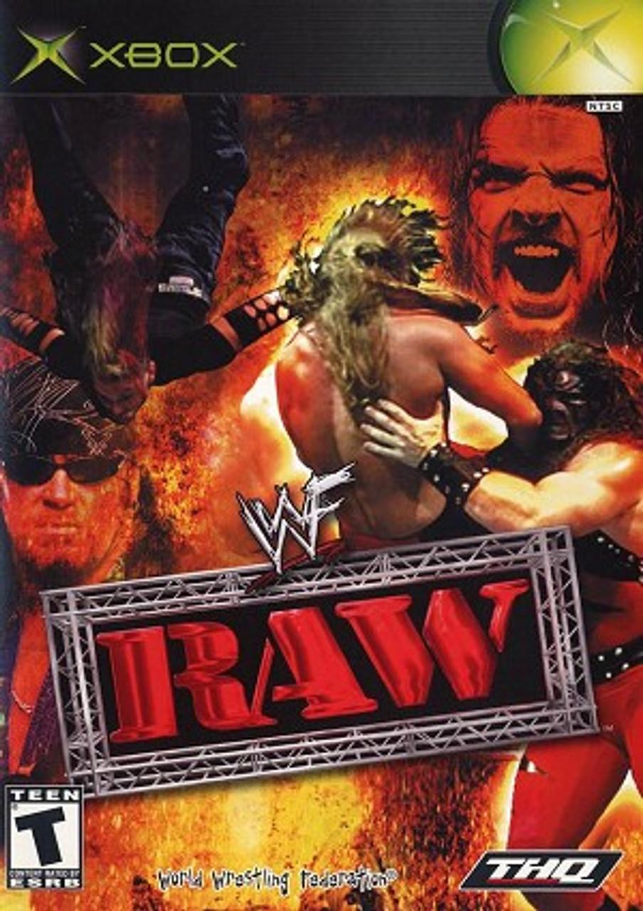 Wwf Raw Xbox Wrestling Game Xbox Wwe For Sale Dkoldies