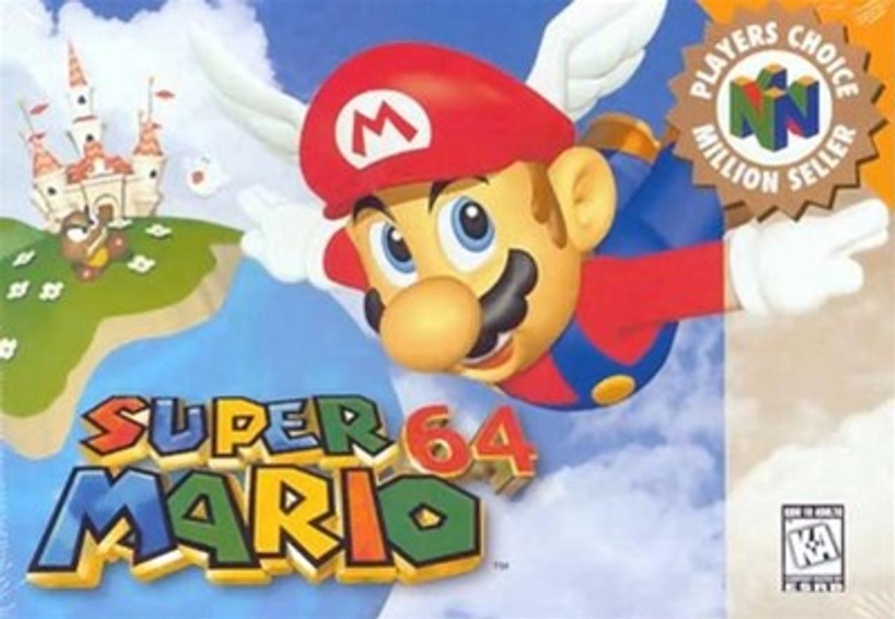 Super Mario 64 - N64 Game