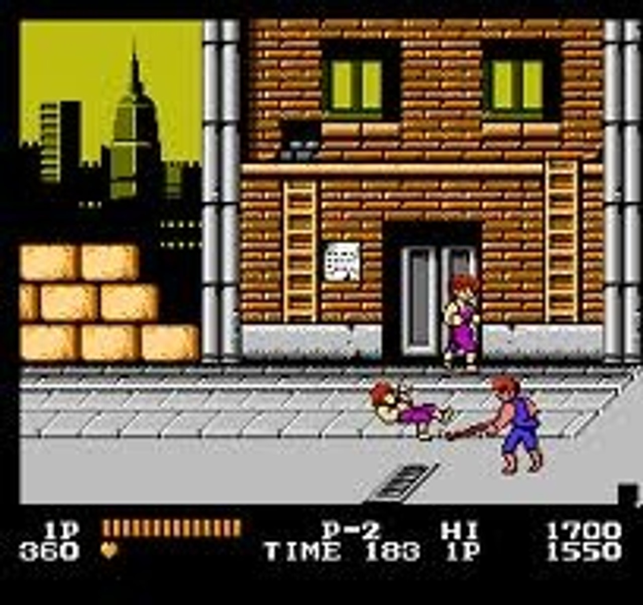 Double Dragon Nintendo Nes Original Game For Sale Dkoldies