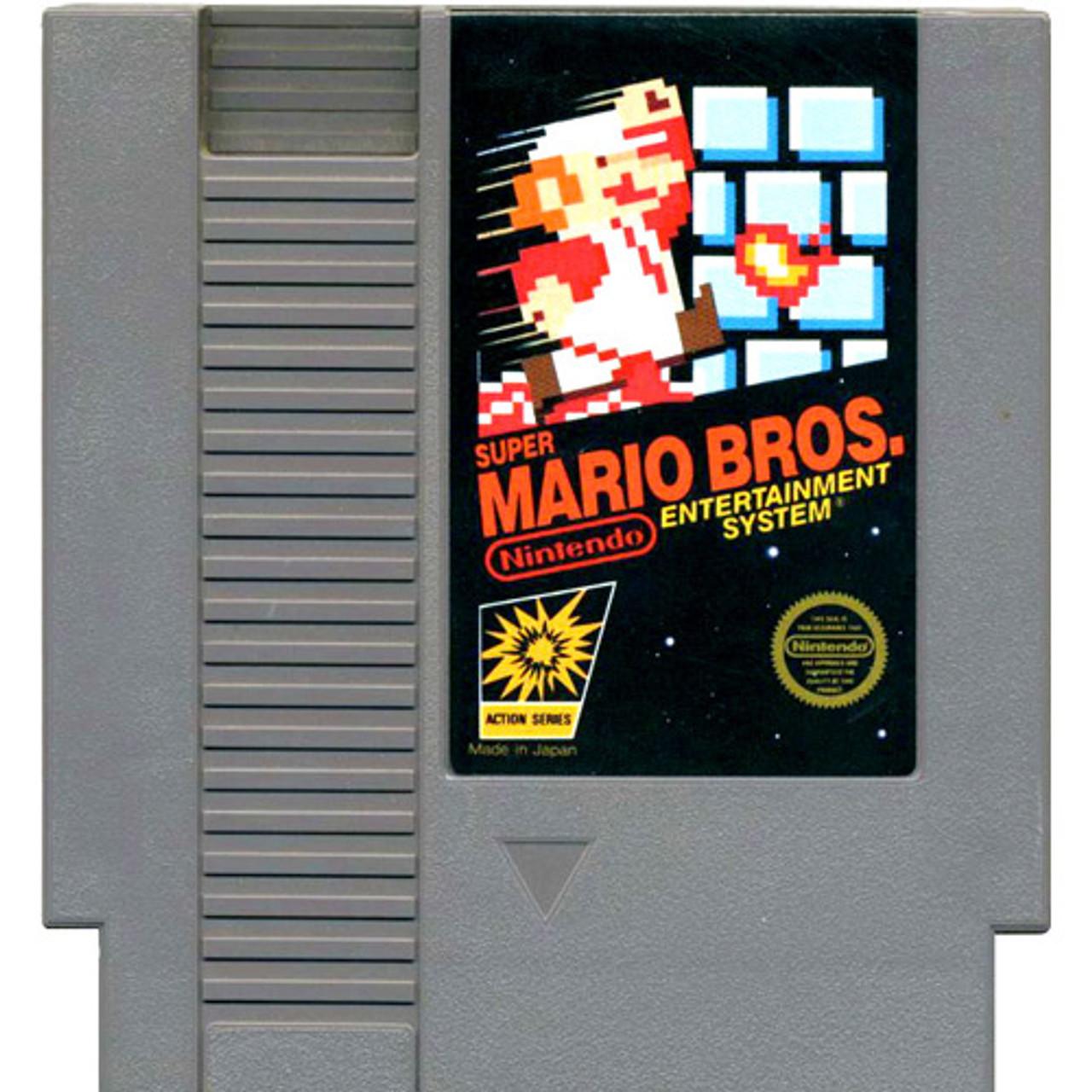 Super Mario Bros Nintendo Nes Original Game For Sale -8843
