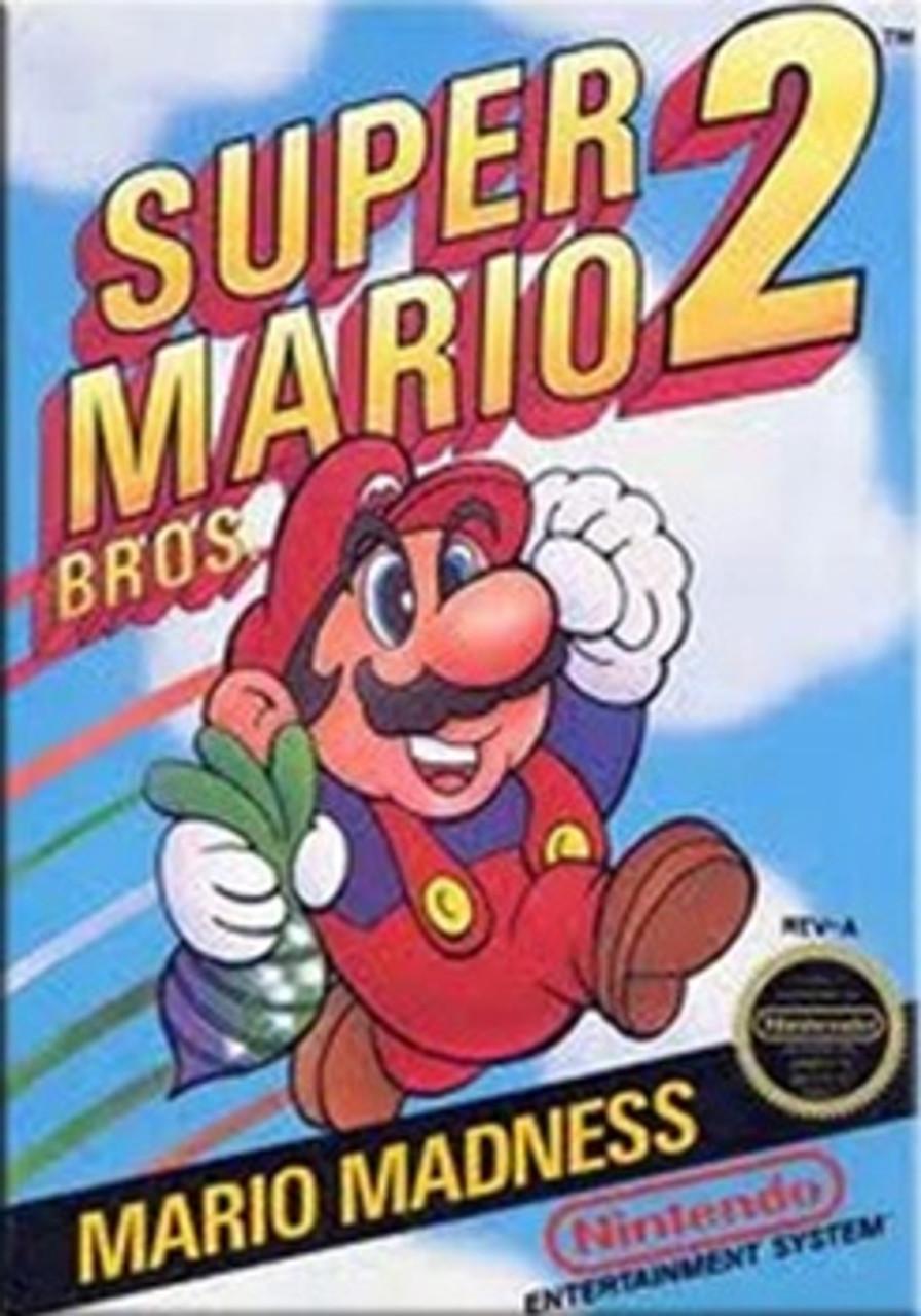 Super Mario Bros  2 - NES Game