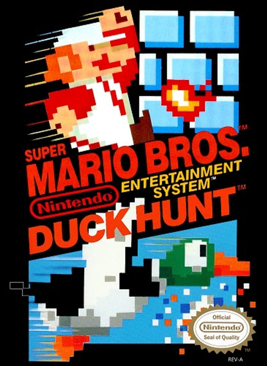 Super Mario Duck Hunt Nintendo Nes Original Game For Sale