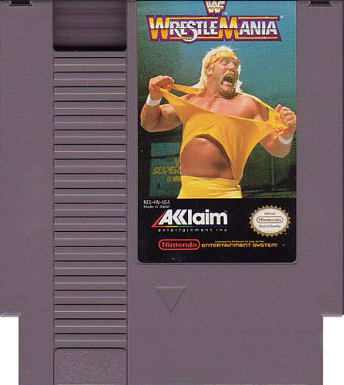 Wwf Wrestlemania Nintendo Nes Original Game For Sale Dkoldies