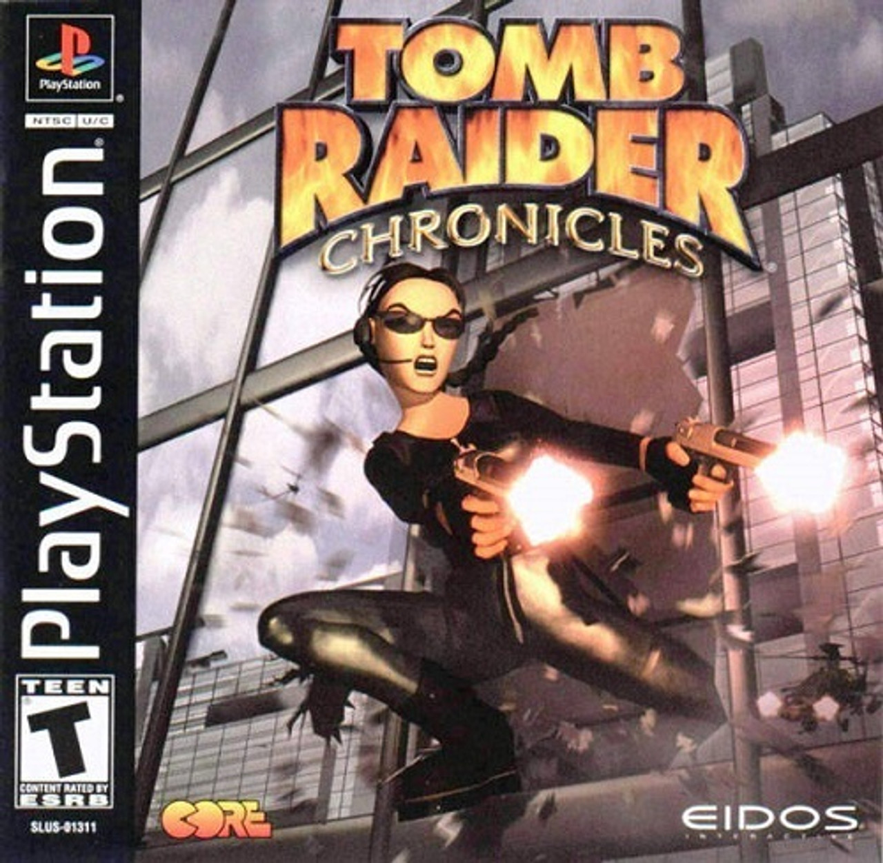 Tomb Raider Chronicles Playstation 1 Ps1 Game For Sale Dkoldies