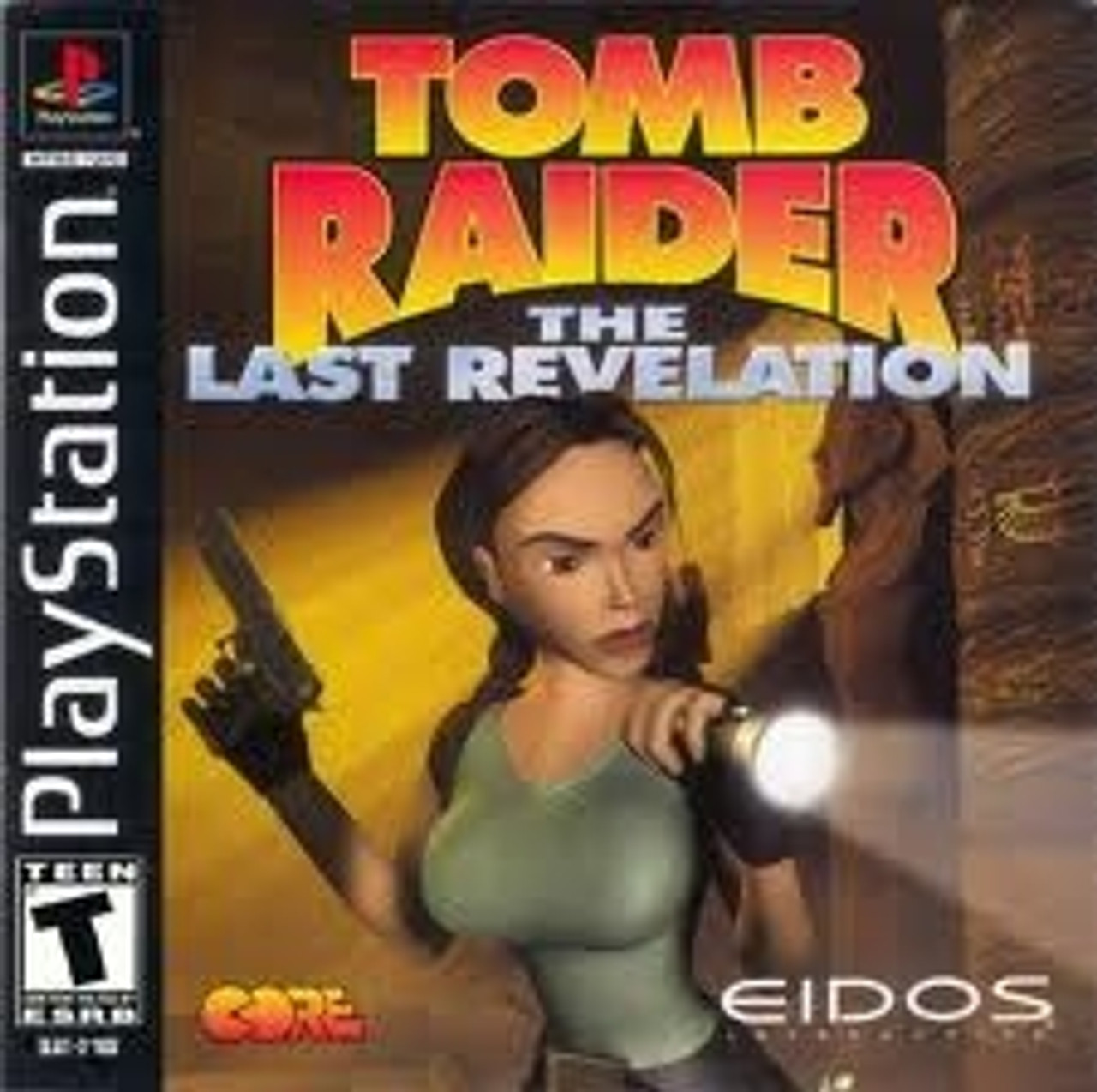 Tomb Raider Last Revelation Playstation 1 Ps1 Game For Sale Dkoldies