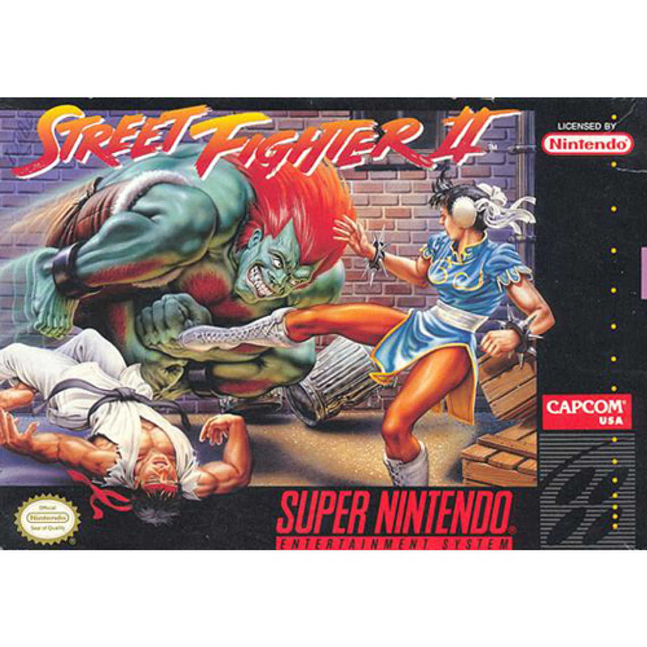 Street Fighter Ii Super Nintendo Snes Game For Sale Dkoldies