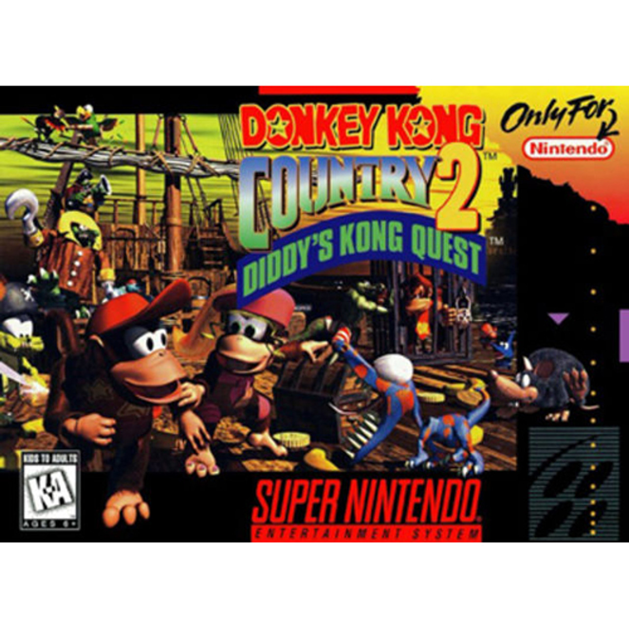 donkey kong country snes9x